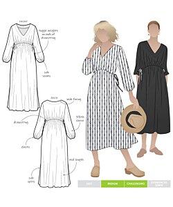 Style Arc Naomi Woven Dress
