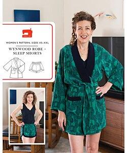 Liesl + Co. Wynwood Robe Shorts