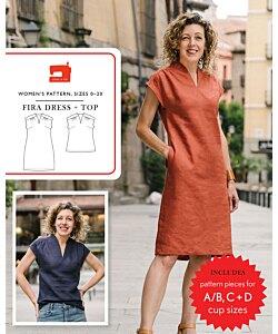 Liesl + Co. Fira dress top