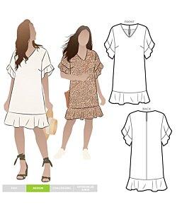 Style Arc Pixie Woven Dress
