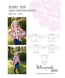Hallonsmula design Poppy Top