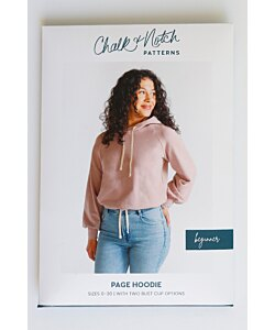 Chalk and Notch Patterns Page Hoodie