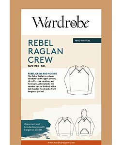 Wardrobe by me Rebel Raglan sweater