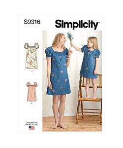 Simplicity 9316
