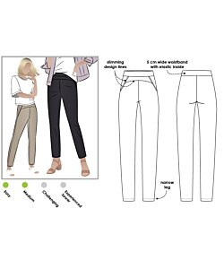 Style Arc Sage Stretch Pant