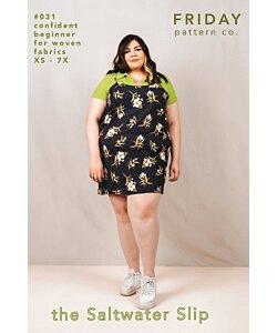 Friday Pattern Co Saltwater Slip dress