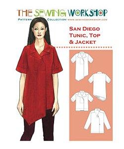 Sewing workshop San Diego Tunic & Top
