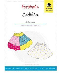 Farbenmix Odilia ballongkjol
