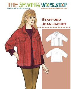 Sewing workshop Stafford jacket