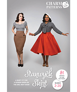 Charm Patterns Stanwyck skirt