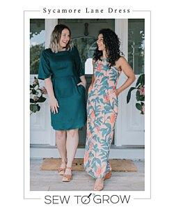 Sew to Grow Sycamore Lane dress