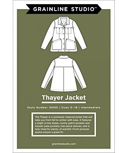 Grainline Studio Thayer Jacket