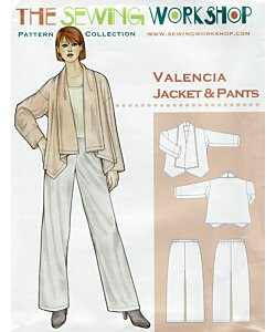 Sewing workshop Valencia jacket trouser