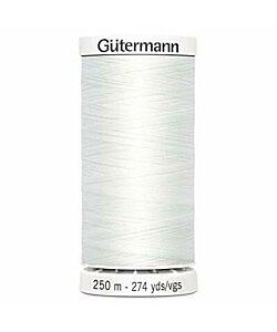 Gütermann tråd 250 m vit universal
