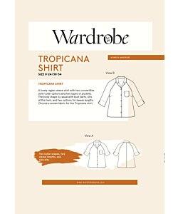 Wardrobe by me Tropicana Shirt