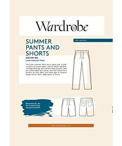 Wardrobe by me Men's summer pants/shorts