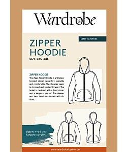 Wardrobe by me Zipper Hoodie