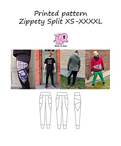 Made by Runi  Zippety split herr