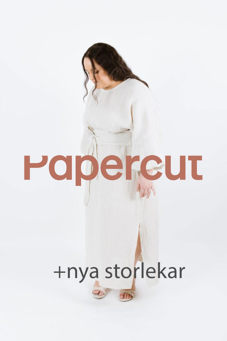 Papercut patterns curve