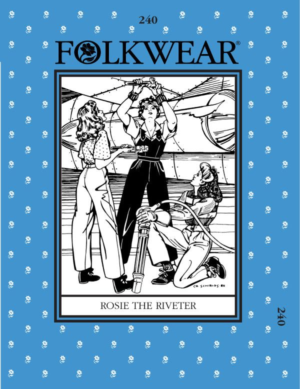 folkwear patterns rosie the riveter