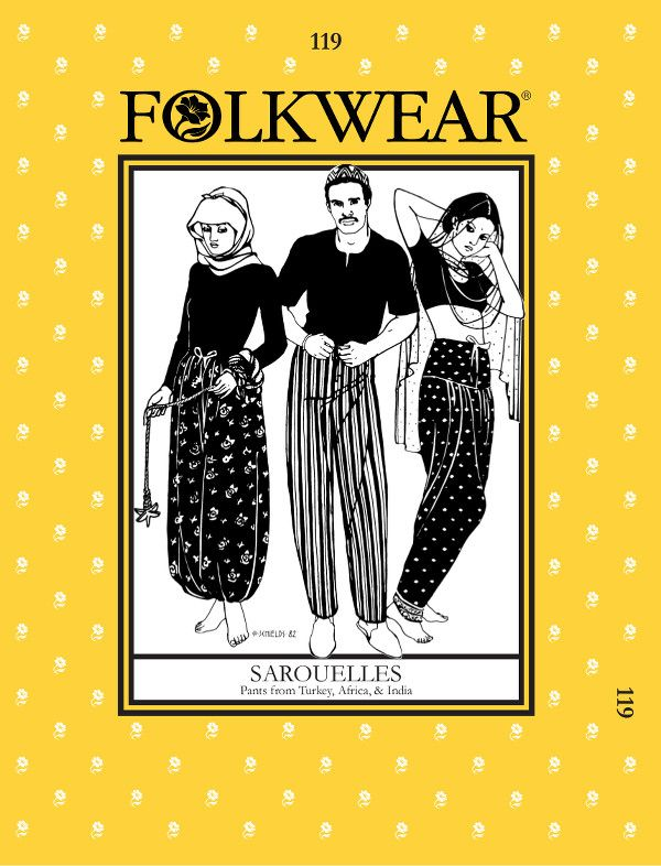 folkwear patterns swing coat sarouelles