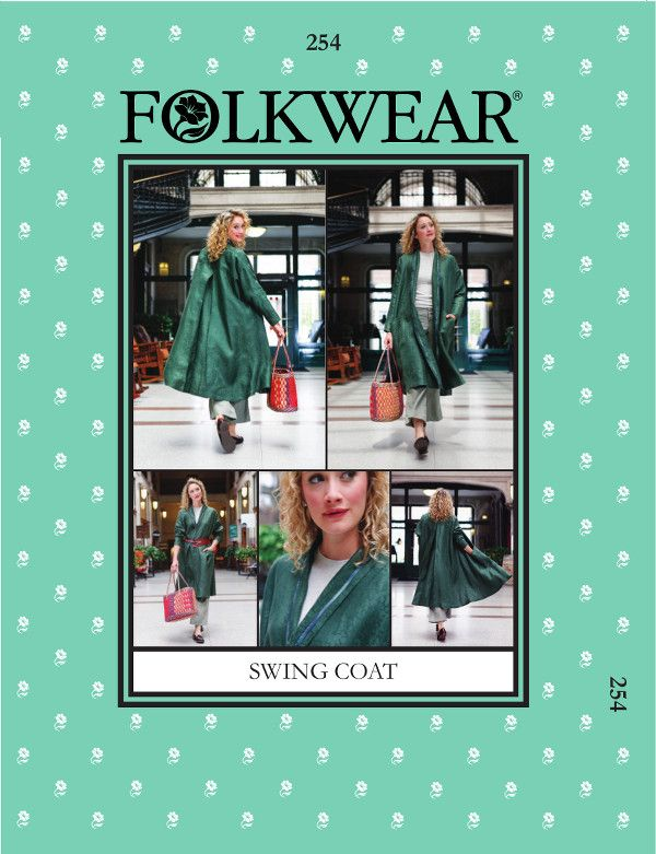 folkwear patterns swing coat